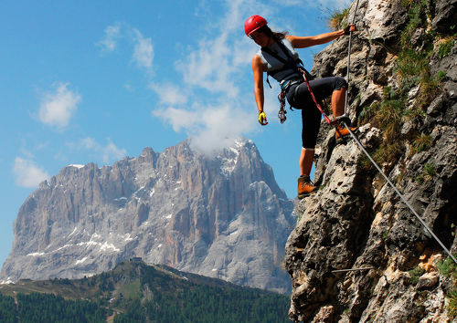Climgin in your summer holiday in South Tyrol